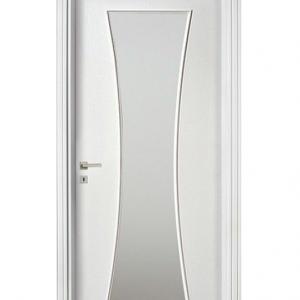 интериорна врата ваза остъклена ваза