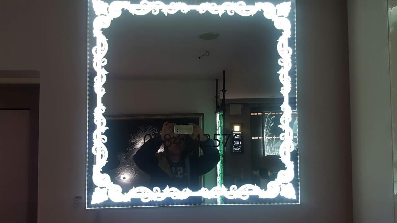 Огледало светвща шарка мат