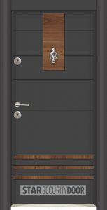 Блиндирана входна врата лукс