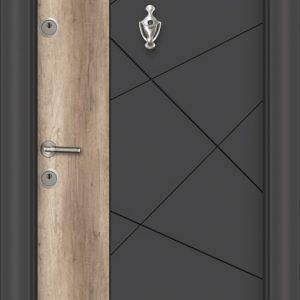 L 306 Антрасит айдер входна врата