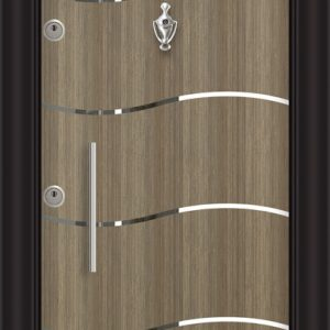 L 5405 Ривер инокс входна врата