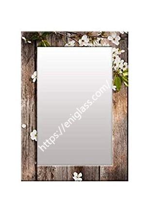 огледало с шарка принт