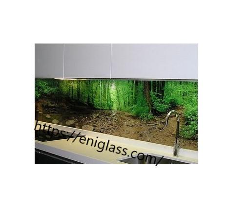 принтирано стъкло печат