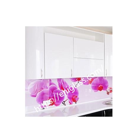 принт орхидеи