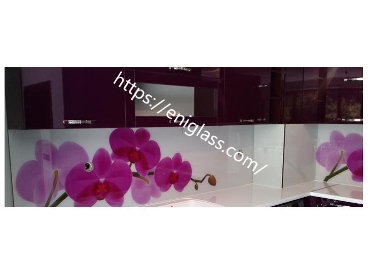 принт гръб за кухня орхидеи